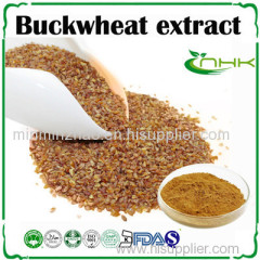 Buck wheat seed extract flavonoids