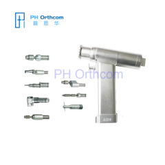 Multifuntion Bone Drill Handpiece with Acetabulum Reamer Saw Saggital Cannulated Connectors
