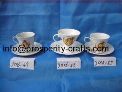 Porcelain Cup / Saucer / Teapot