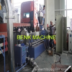 PE-WPC granulating machine production line