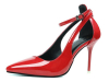 Single sole pointed toe high heel dress shoes