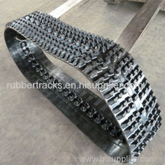 ATV Snow Blower Rubber Track and Construction Machinery Parts Tracks