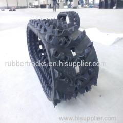 Snowmobile rubber track Snow blower rubber track