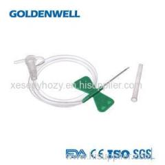 Medical Disposable Scalp Vein Set Butterfly Wings Luer Slip Connector