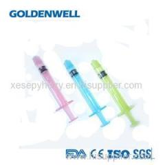 Disposable Colorful Syringe Product Product Product