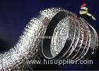 Hydroponic Grow Tent Aluminum Flexible Duct Rigid With Chemical Resistance