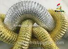 Flame Retardant Flexible Range Hood Duct Aluminum Foil Double Sided