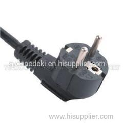 EUROPE POWER CORD AND PLUG WITH VDE APPROVE