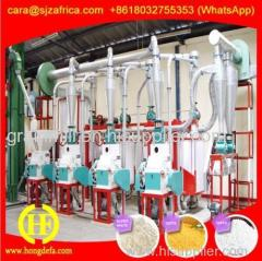 Africa maize milling mill machine