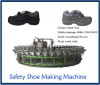 36 mold station polyurethane shoe safety boots injection production line