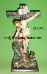 Poly resin Cross / Crucifix