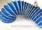 Fire Retardant Flexible Air Duct PVC For Ventilation Easy Installation