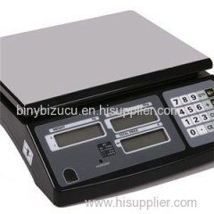 RS232 Electronic ACS Series 15KG 30KG Price Computing Tabletop Scale Balance