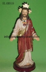 Poly resin Religious Figurine