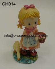 Poly resin Figurine .