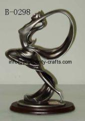Polyresin / Metal Dancing Figurine