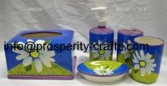 Ceramic Bathroom set .