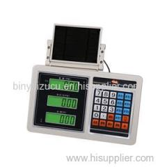 Bench Platform Floor Scale Price Computing Weighing Counting LED LCD Display Rechargeable Indicator