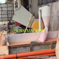 waste PVC pipe crushing machinery