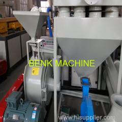 pvc máquina pulverizador de plásticos