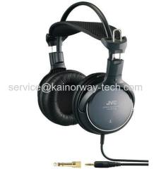 JVC HARX700 Precision Sound Deep Bass On-Ear Wired Black Headphones