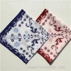 Custom Design Screen Printing 100% Cotton Bandana