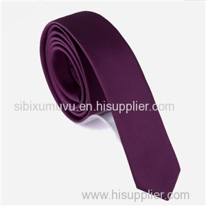 Plain Dyed Solid Color Stripe Necktie