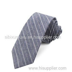 Designer Custom Woven Linen Promotional Tie