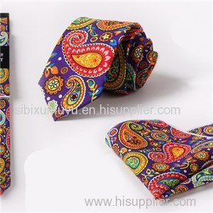 Custom Pocket Square Slim Skinny Mens Silk Tie