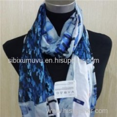 Customizable 100% Modal Digital Printing Infinity Scarf