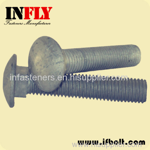 Carriage Bolts DIN603 M6-M20 Round head square neck bolts