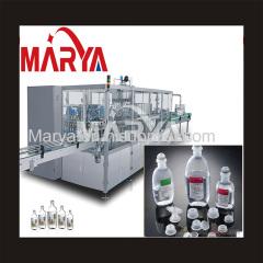 Large volume plastic bottle I.V. production line