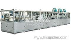 Plastic bottle I.V. blowing machine manufacturer