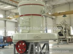 High pressure suspension powder grinder