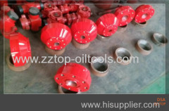 API 6A wellhead DSA double studded adapter flange