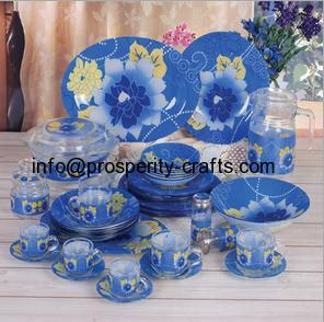 Glass Tableware set .