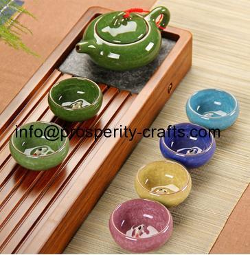 Porcelain Glazed Tea Set