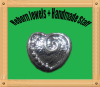 Heart large hole beads for european style and all diy jewelry making