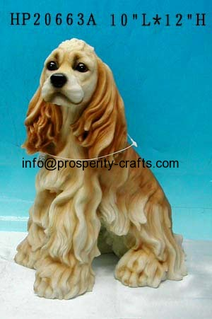Polyresin and other material Animal Figurine