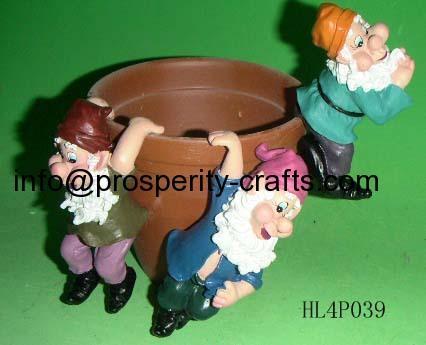 Poly Resin Pot Pet