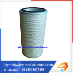 air compressor filter cartridge/cellulose air filter cartridge for industrial filter