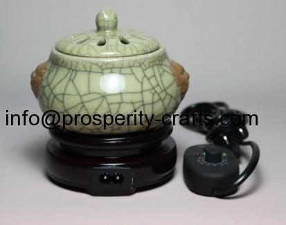 Porcelain Glazed Warmer & Diffuser
