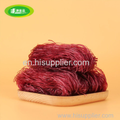 Delicious purple sweet potato vermicelli