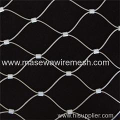 Stainless Steel Rope Mesh in Zoo