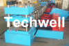 7 Rollers Leveling Expressway Guardrail Roll Forming Machine For Crash Barrier