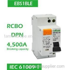 RCBO DPN DPNLE Residual Current Breaker With Overcurrent