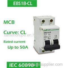 Characteristic Curve CL MCB 1P 2P 3P 4P