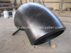 ASTM SA234 WPB Carbon Steel LONG RADIUS Seamless Steel ELBOW