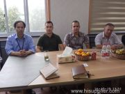 Customer from Belarus Visit Our Factory