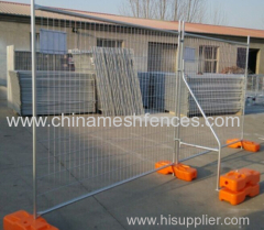 hot-dipped galvanized Australia temporary fence panel construction site temporary fence panel